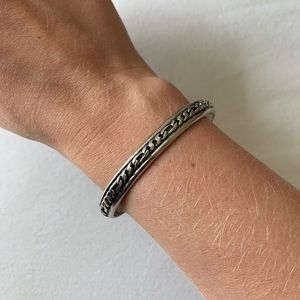 Free People Antique Silver Bangle